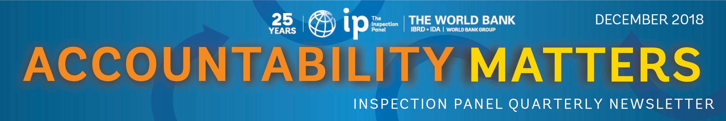 The Inspection Panel  Newsletter